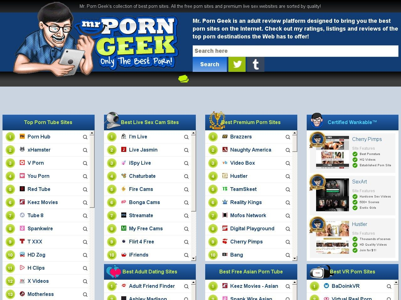 A guide to live porn webcam sites